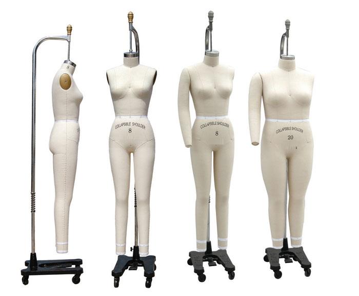 欧美女体整体人台(HB-19)